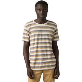Prana Dustin T-shirt avec col ras-du-cou Homme, toffee